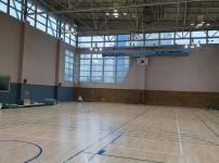 다목적체육관 및 체력단련실 바닥 공사 실시